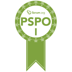 Certified Professional Scrum Product Owner